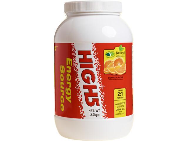 High5 EnergySource Advanced Sports Drink Tub 2,2kg, Orange
